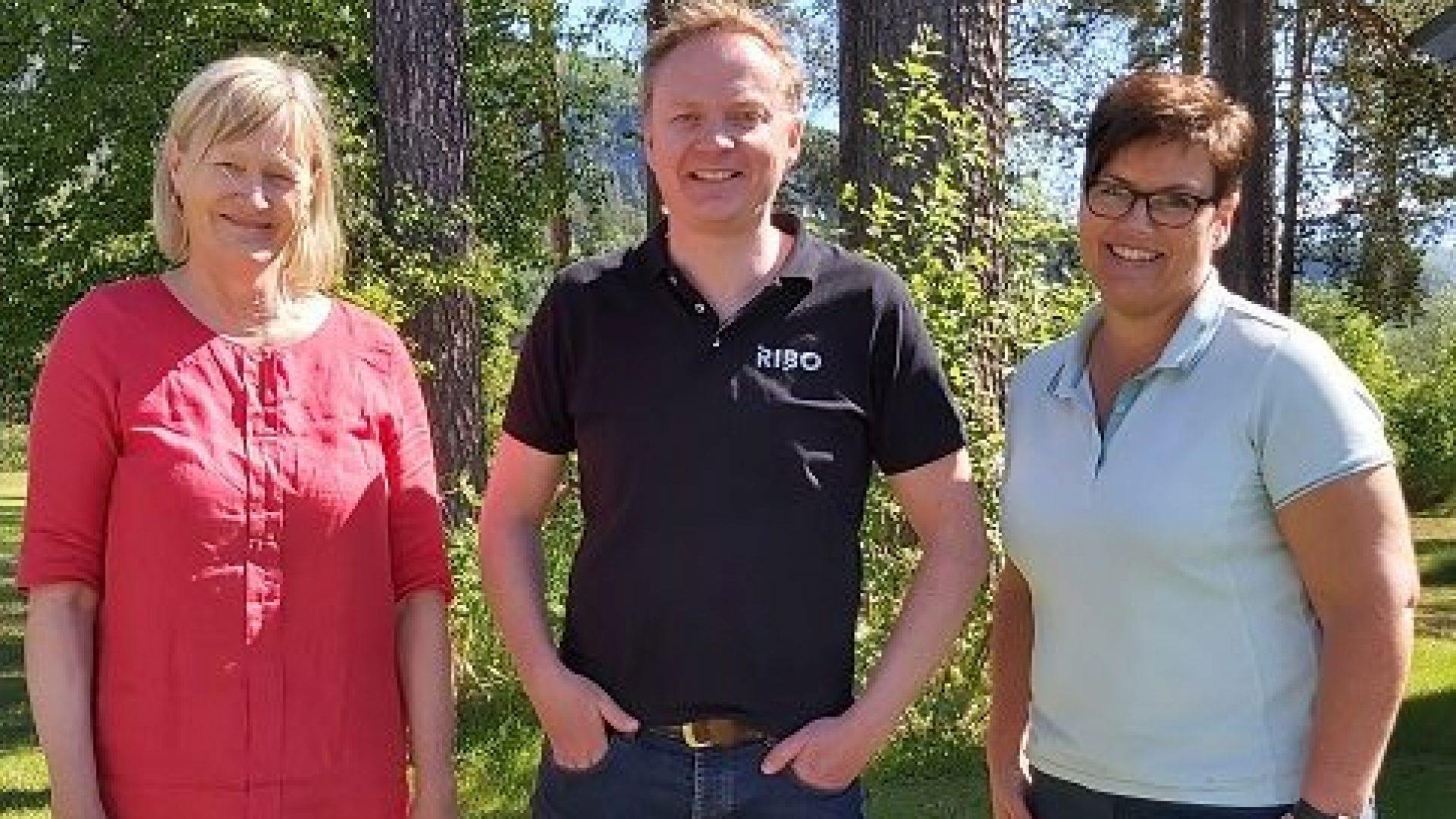 Hanne Davidsen, Sven-Roger Johnsplass og Lise Nilsen