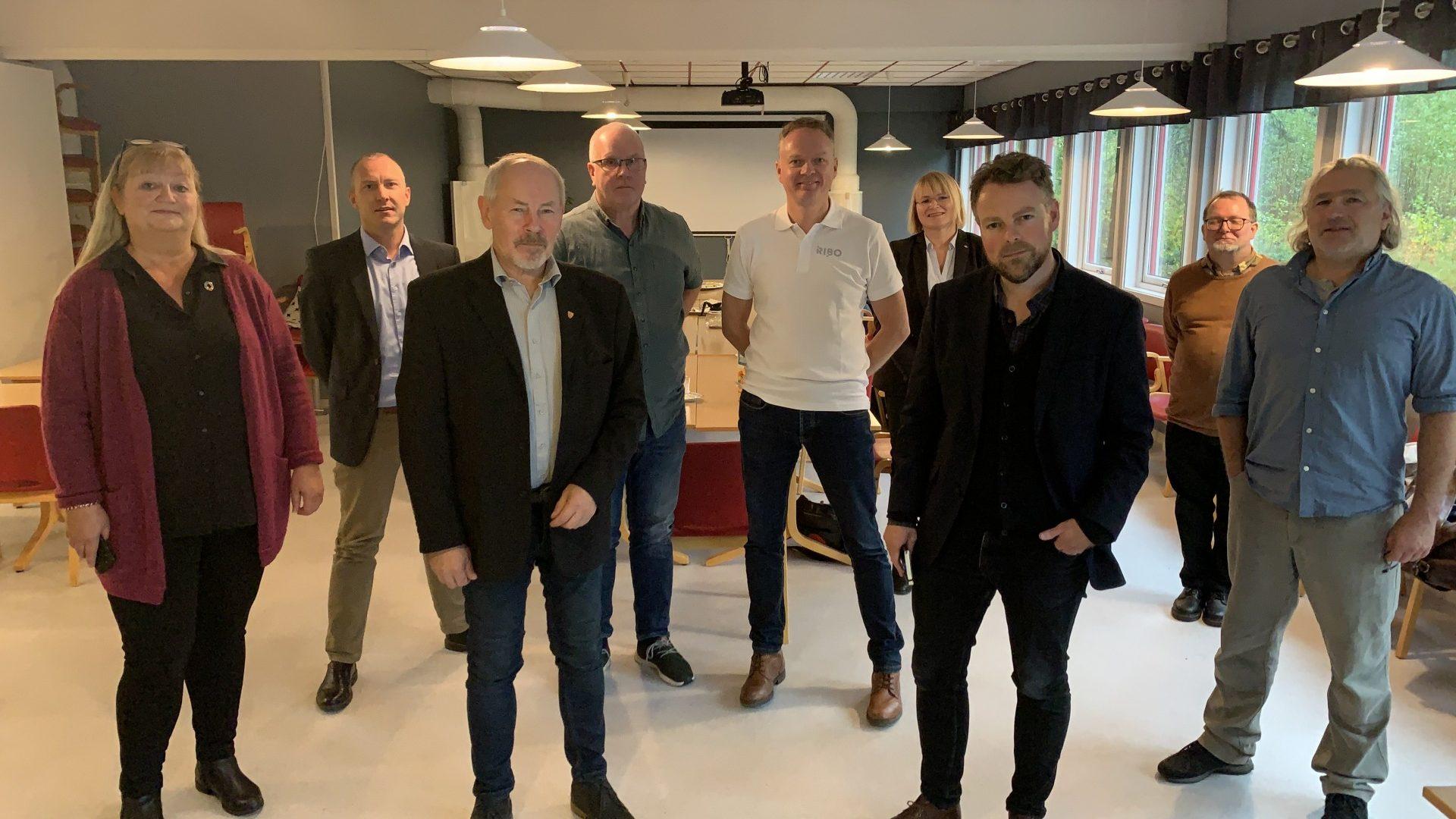 Besøk av statsråd Torbjørn Røe Isaksen