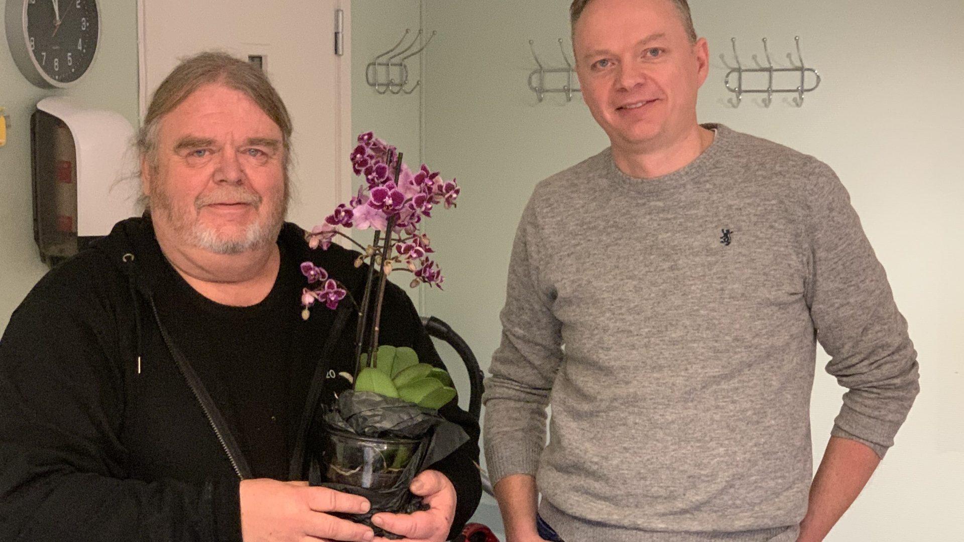 Ole Orvin og Sven-Roger Johnsplass